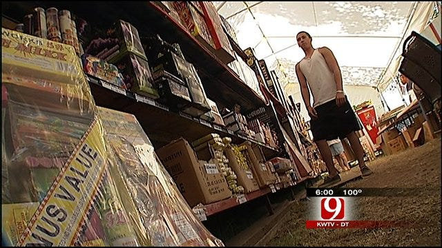Burn Ban Hasn't Slowed Fireworks Sales