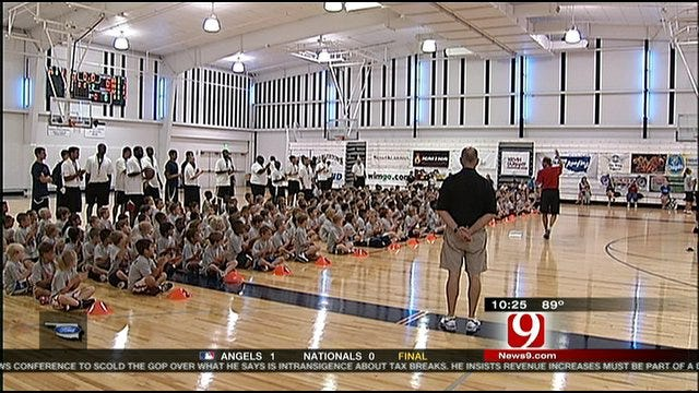 Kevin Durant Youth Basketball Camp