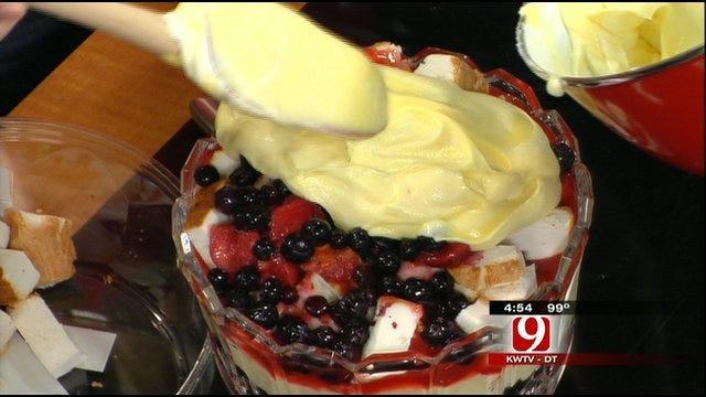 Lauren Nelson's Red, White And Blue Shortcake