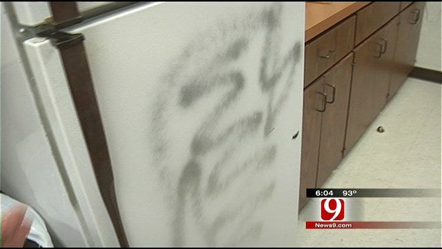 Duncan Senior Center Hit By Vandals