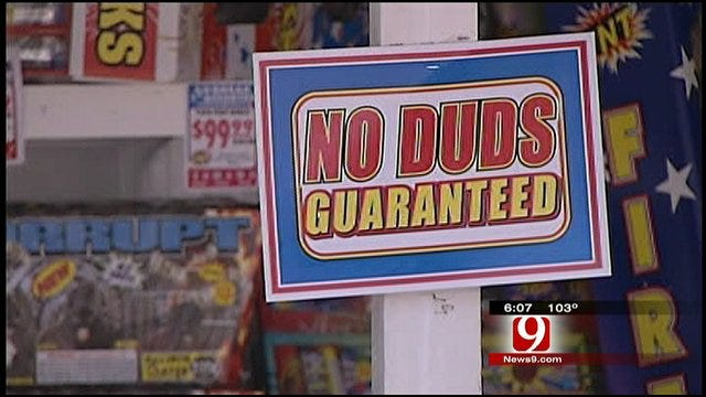 Fireworks Allowed In Some Oklahoma Counties
