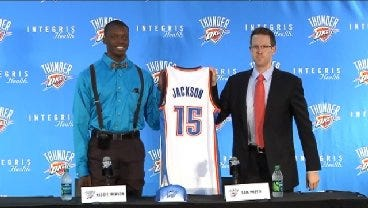 Reggie Jackson Press Conference