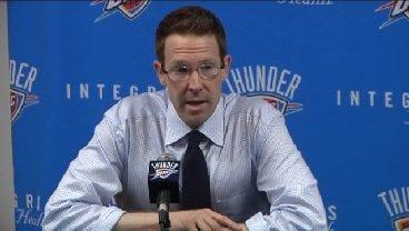 Sam Presti Discusses The Thunder's Latest Draft Pick