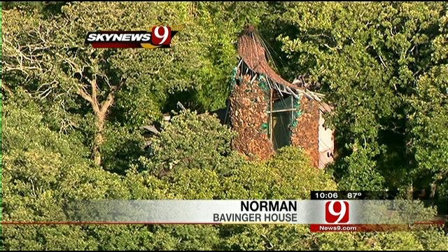 Historic Norman Home Sustains Damage