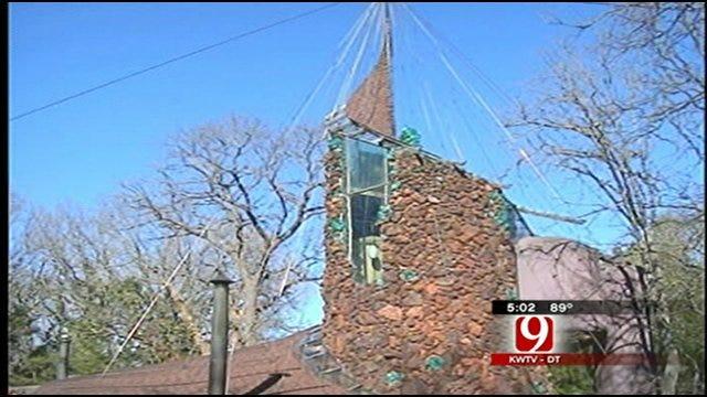 News 9 Crew Shot At While Investigating Bavinger House Rumors