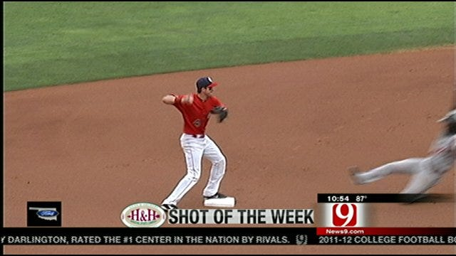 Shot Of The Week-Redhawks Turn Two