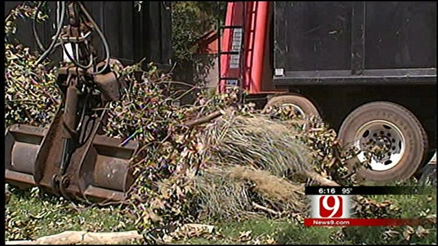 Norman Residents Grateful For Help Removing Storm Debris