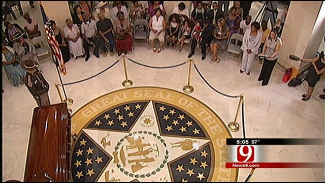 Oklahomans Pay Respects To Clara Luper