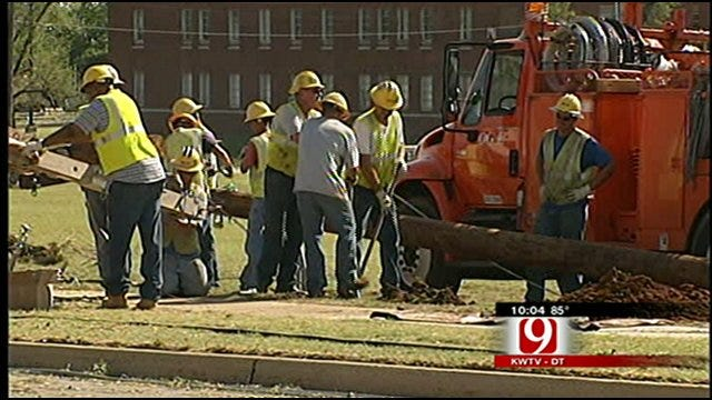 Hot Weather Challenges Residents Without Power