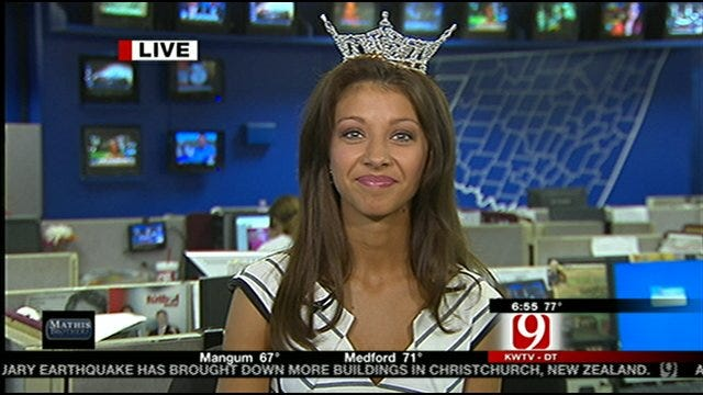 New Miss Oklahoma Talks With News 9 This Morning