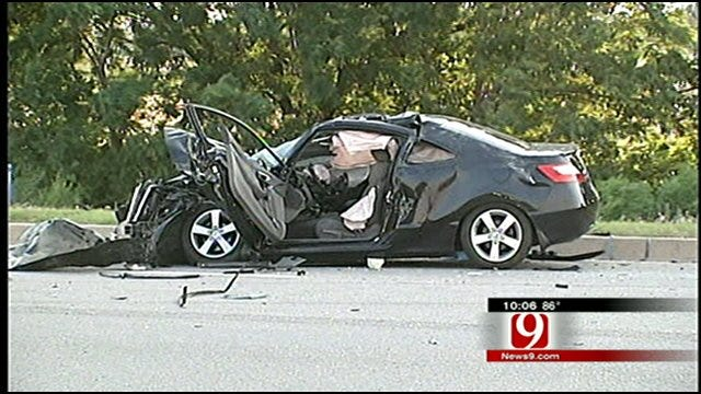 Three-Vehicle Accident in South OKC Sends Four To Hospital