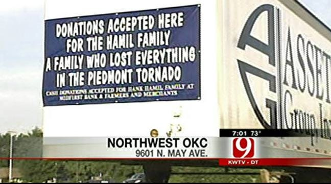 Drive For Hamil Family Continues Through Noon Saturday