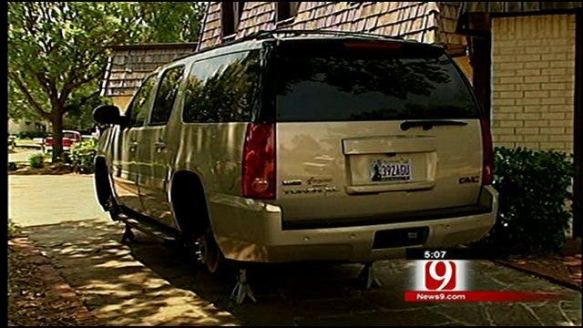 Tire Thefts Plague Norman Neighborhood