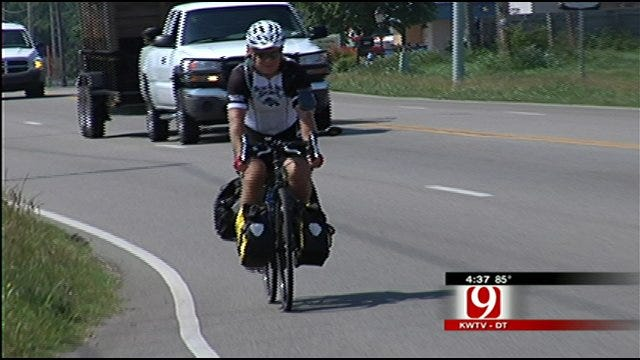 Oklahoma Man Riding To Raise Money For Cancer Research