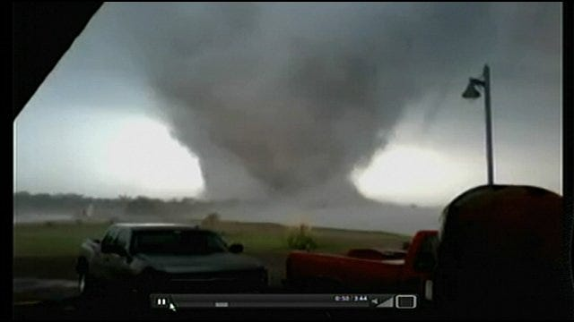 Day Of Tornadoes: News 9 Storm Trackers Record Storms