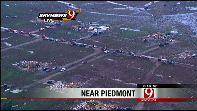 Crews Search For Missing Boy After Tornado Hits Piedmont