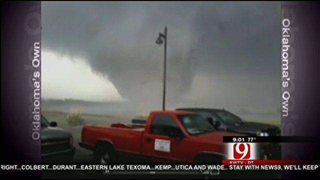Longdale Tornado Video From News 9 Viewer