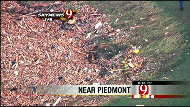 Houses Reduced To Piles Of Lumber In Piedmont