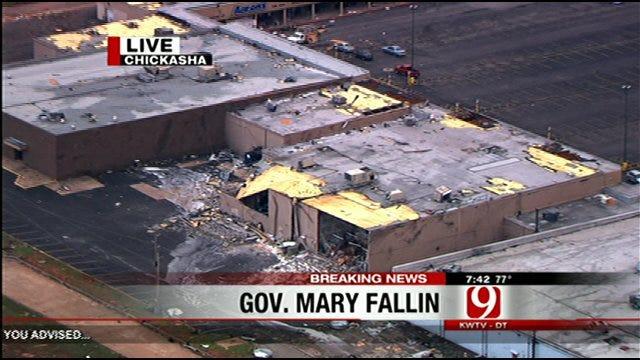 Gov. Fallin Talks About Deadly Tornado Outbreak
