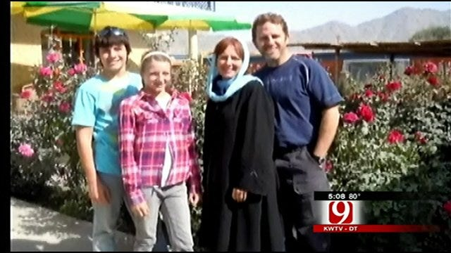Oklahoma Doctor Welcomed Home From Afghanistan