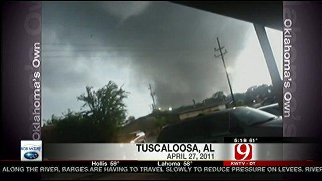 Man Risks Life To Record Video Of Alabama Tornado