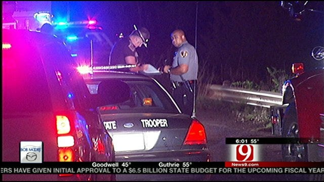 Suspect Ejected From Vehicle After Driving Off Bridge In Logan County