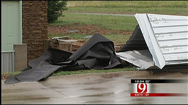 Severe Storms Leave Damage Behind In The Metro