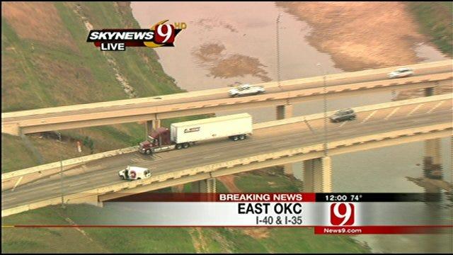 Ammunition Truck Accident Snarls I-40