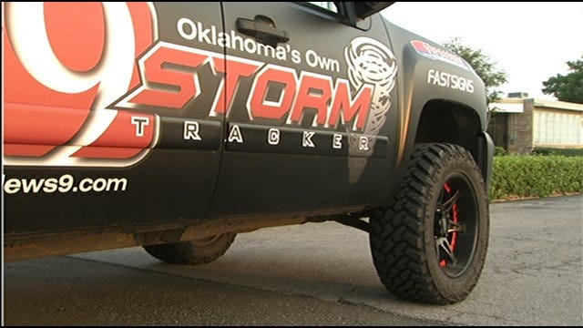 Val Castor's New Storm Tracking Truck