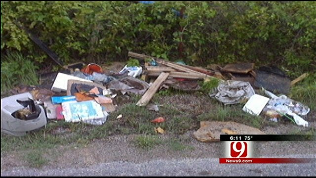 Garvin County Authorities Work To Catch Illegal Trash Dumpers