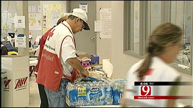 Oklahoma Red Cross Helping Storm Recovery Efforts In South