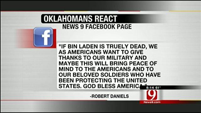 News9's Facebook Friends Comment on Bin Laden's Death