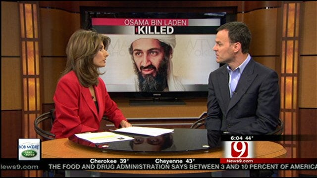 State Sen. Andrew Rice Talks About The Death Of Osama Bin Laden