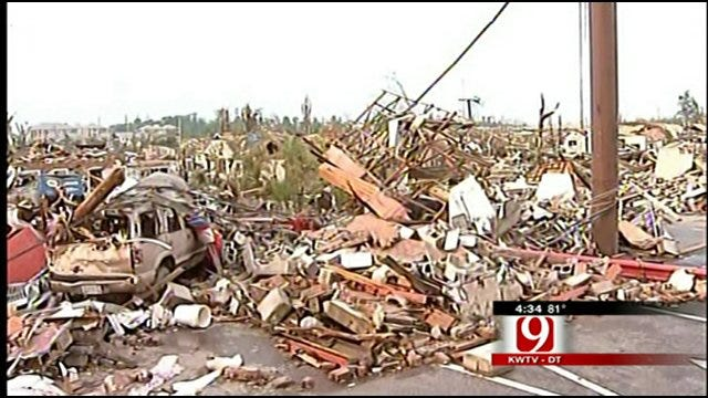 Red Cross From Oklahoma Heads South