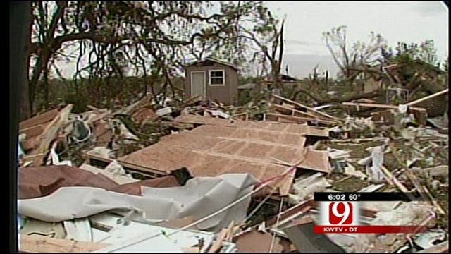 At Least 60 Homes Declared Complete Loss After Tornado In Tushka