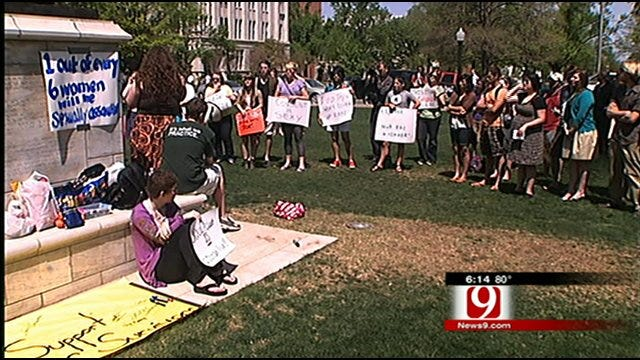 Students Rally To Change Sexual Assault Policies At OU