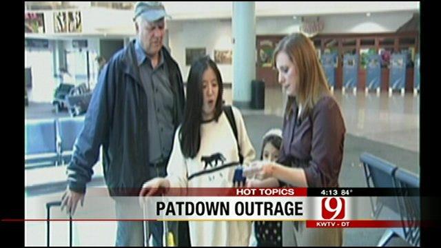 Hot Topics: 6-Year-Old Pat down