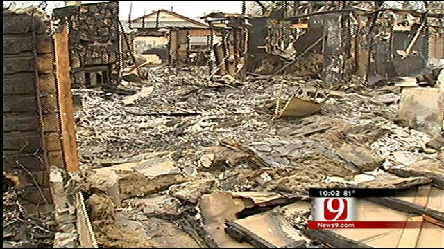 2 Years Since Wildfire Destruction in Midwest City, Choctaw