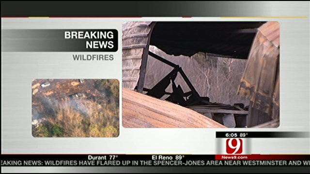 Farm Equipment May Have Ignited Wildfire