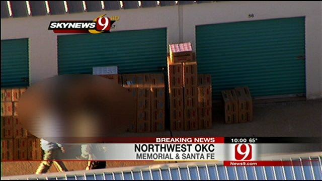 Federal Raid Captured By SkyNews 9 HD Said To Be Illegal Tobacco Products