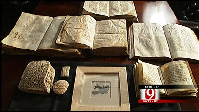 Sneak Peak Behind Hobby Lobby Owner's Biblical Artifacts Collection
