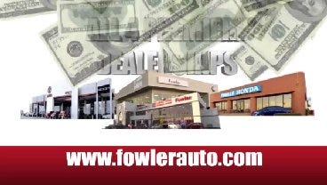 Fowler Auto Group: Get More For Your Trade