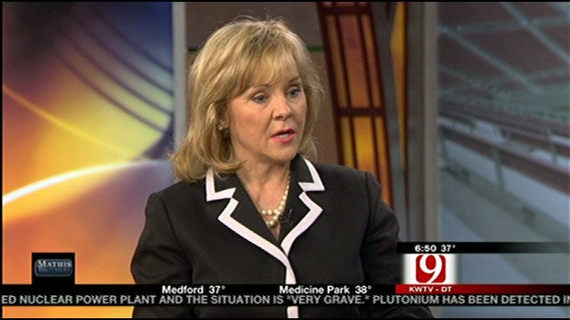 Gov. Fallin Answers Viewer Questions On News 9 This Morning