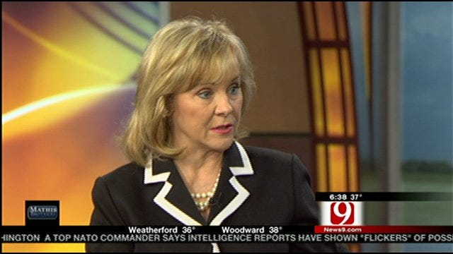 Gov. Fallin Talks To News 9 This Morning About First 80 Days