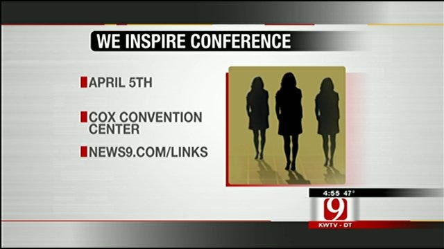 WE Inspire Conference Giving Women Tips For Success