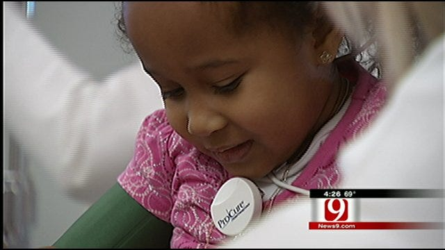 4-Year-Old Nebraska Girl Undergoes Cancer Treatment in OKC