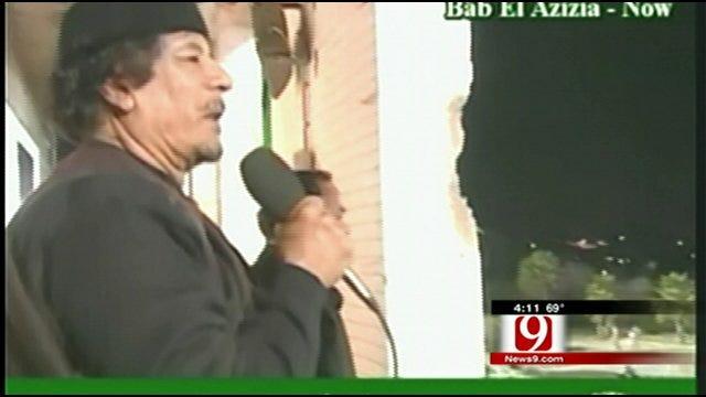 Hot Topics: Gadhafi, Botox and Padded Tops