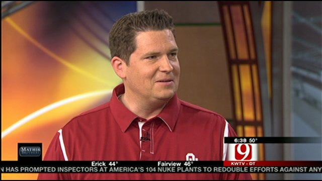 Toby Rowland Talks About His New Gig As The Voice Of Sooners