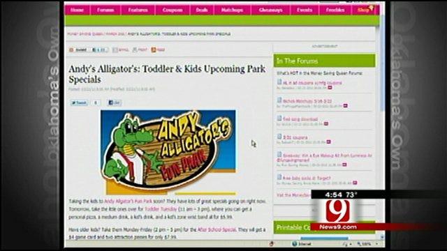 Money Saving Queen: Andy's Alligator Deal
