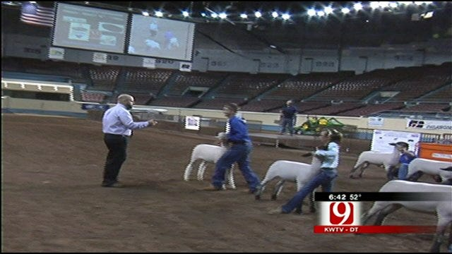 In The Field: Kids From All 77 Counties In OKC For Youth Expo